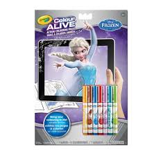 colour alive frozen crayola ca