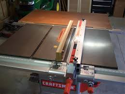 craftsman sliding table saw craftsman 22114 table saw woodworking talk woodworkers forum