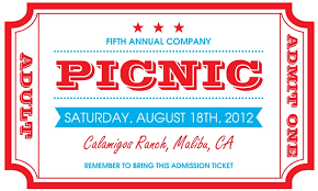 company picnic invitations the curious mind of
