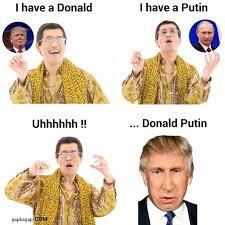 Vladimir Putin Meme - funny ppap memes about donald trump and vladimir putin gap ba gap