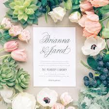 basic invite custom invitations b u0026w blush and whim wedding