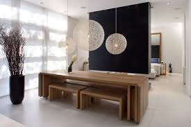 modern wood kitchen table modern wooden dining table design
