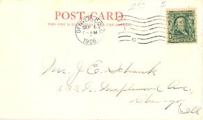 tips for determining when a u s postcard was published