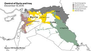 Syria Conflict Map The Recapture Of Palmyra By Islamic State Shows That The War In