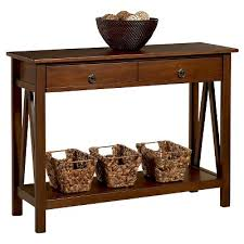Wood Sofa Table with Console Tables Target
