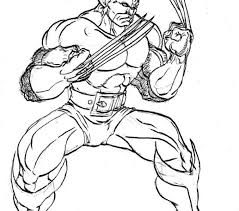 wolverine coloring book pages tags wolverine coloring pages fall