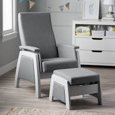 Wooden Rocking Chairs For Nursery by Abbyson Thatcher Fabric Rocker Beige Hayneedle