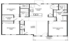 2000 Sq Ft House Floor Plans by Island Hampton Single Storey Floor Plan Wasingle Story Plans With