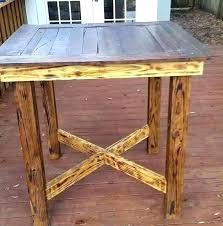 bar height patio table plans bar top table height brilliant round bar top table round copper bar