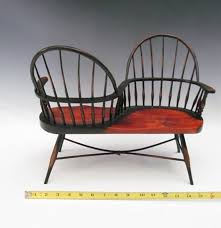 Courting Bench For Sale Miniature Windsor Sack Back Courting Bench Ebth