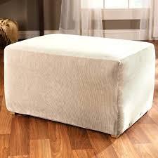 Stretch Ottoman Slipcover Ottoman Cube Slipcover Stretch Stripe Ottoman Slipcover Cube