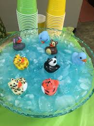 jungle baby shower blue kool aid punch bowl jungle baby shower