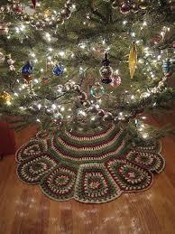 133 best christmas tree skirts images on pinterest crochet