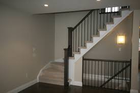 Basement Stairs Design Allowing Light Into The Basement I Like The Open Idea For The