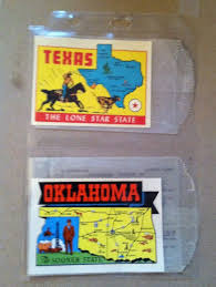 Oklahoma travel stickers images 94 best malle de voyage images traveling vintage jpg