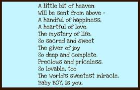 baby boy poems a beautiful poem for my baby boy logan you re all i ve wanted