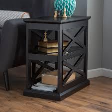 Black Side Table Belham Living Renata Quatrefoil Side Table Hayneedle