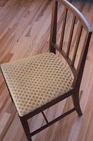 Recovering Dining Room Chair Cushions How To Reupholster A Dining Chair Seat 14 Steps With Pictures