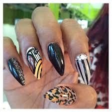 stilleto nails with gel yelp