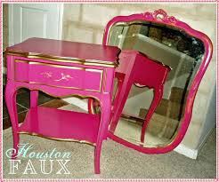 side table pink nightstand side table bedroom wicker furniture