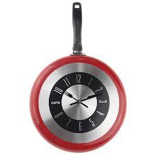 montre de cuisine grand 12 pouces horloge murale design moderne cuisine poêle à frire