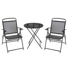 Iron Table And Chairs Patio Outdoor Bistro Sets Small Balcony Furniture Kmart