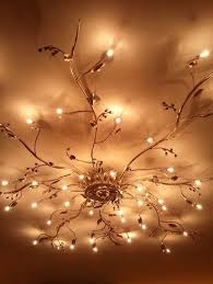 Unique Ceiling Lighting Mesmerize Your Guests With These Gold Contemporary Style Ceiling