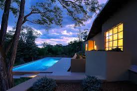 tour a santa fe contemporary home designed to showcase an