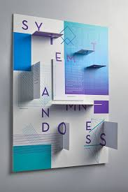 Architecture Poster Design Ideas Best 25 3d Poster Ideas Only On Pinterest Grid Design Paper