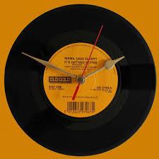 mama cass elliot it u0027s getting better vinyl clocks