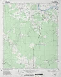 State Plane Coordinate System Map by