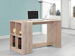 bureau avec rangement bureau cyprien avec rangements 4 niches 2 coloris