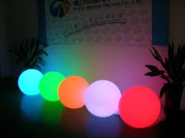 20 30 40 50 60cm grass balls lights colors led branch event