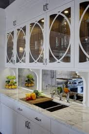 kitchen backsplash mirror beautiful mirrored kitchen cabinets and mirrored kitchen
