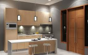 furniture modern kitchen house design with exterior french doors