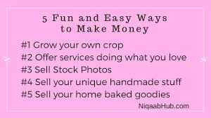 5 easy ways for single mom to make money while having fun with her