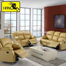 Yellow Leather Recliner Folding Lounge Chair Indoor Folding Lounge Chair Indoor Suppliers
