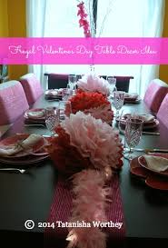 Valentines Day Table Decor Frugal Valentine U0027s Day Table Decor Ideas