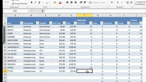 Inventory List Excel Template Inventory Excel Template Free Programmer Analyst Sample Resume