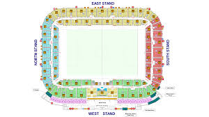 Stadium Plan Liberty Stadium Swansea City Afc Info U0026 Map Premier League