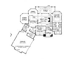 4 bedroom house plans with basement eplans european house plan 2390 square and 4 bedrooms from