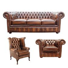 Chesterfield Sofa Suite Chesterfield 3 Suite 3 Seater Sofa Club Chair