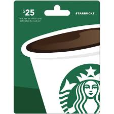 starbuck gift cards starbucks gift card entertainment dining gifts food shop