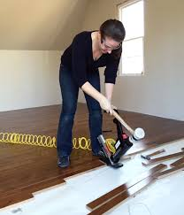 How To Lay Hardwood Laminate Flooring - how to install hardwood flooring young house love