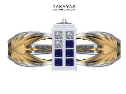 doctor who engagement ring dr who and battlestar gallactica scifi engagement ring takayas