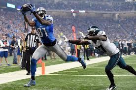 detroit lions wr calvin johnson has made touchdown catches a