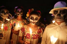 halloween in mexico city hollywood and halloween are changing mexico u0027s day of the dead