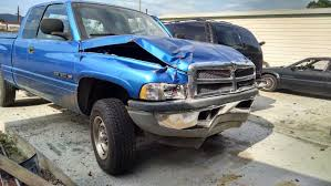 wrecked dodge trucks our truck is wrecked looking for a great deal