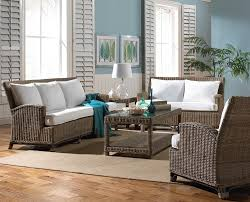 panama jack exuma rattan and wicker living room set from