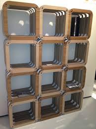 Bookshelf Room Divider Ideas by Cardboard Room Divider Sheet Music Decoupaged Pax Room Divider